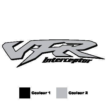 Honda VFR Interceptor color Decal