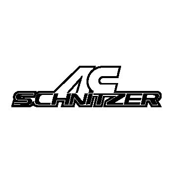 Set of 4 AC Schnitzer wheels decals