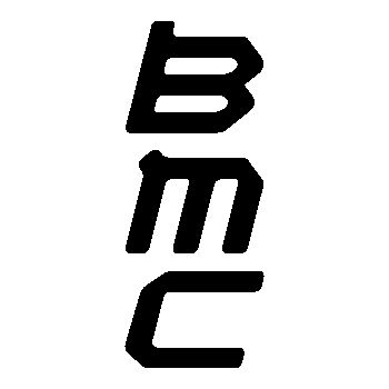 BMC logo Decal 3