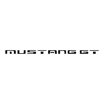 Sticker Ford Mustang GT 4 Logo
