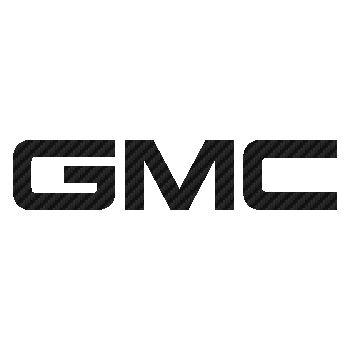 GMC logo Carbon Decal