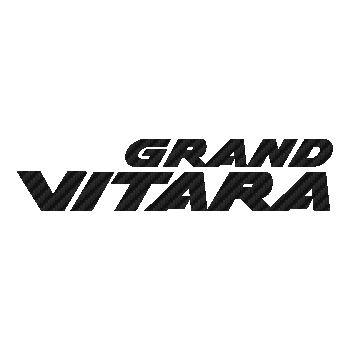 Suzuki Grand Vitara logo Carbon Decal