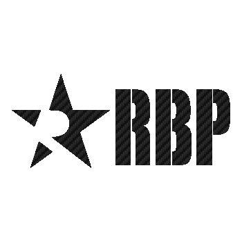 RBP Rolling Big Power Carbon Decal