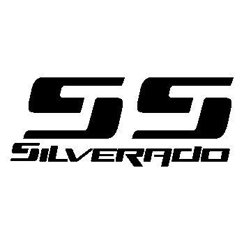 Sticker Chevy Silverado SS