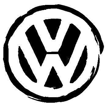 Sticker VW Volkswagen logo urbain