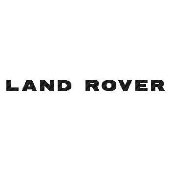 Sticker Carbone Land Rover Logo 2
