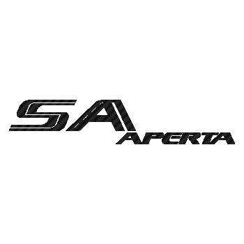 Sticker Karbon Ferrari SA Aperta