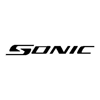 Sticker Chevrolet Sonic Logo