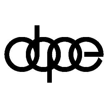 Sticker Audi Dope Logo