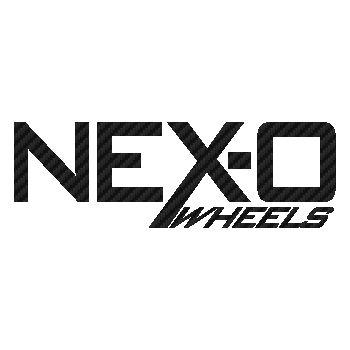 Nex-o Wheels logo Carbon Decal