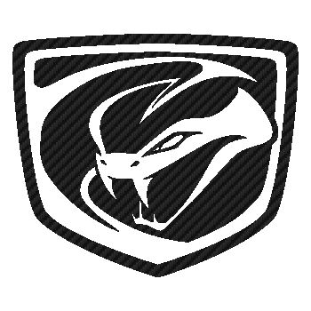 Sticker Carbone Viper Logo