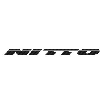 Nitto Pneus Carbon Decal