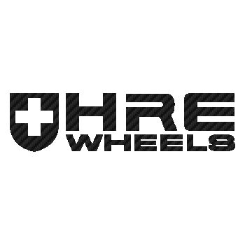 HRE Wheels Carbon Decal