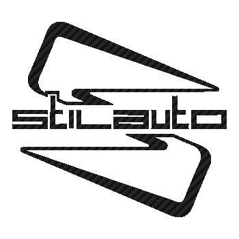 Stilauto wheels logo Carbon Decal