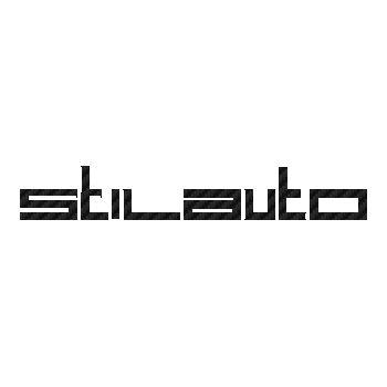 Stilauto wheels logo Carbon Decal 2