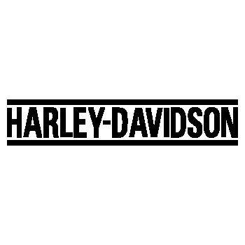 Harley Davidson bike decoration logo Decal