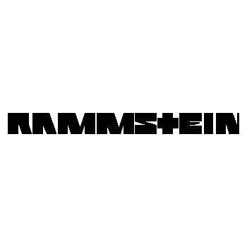 Sticker Rammstein Logo