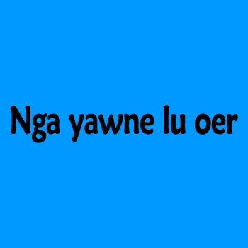 "Casquette Avatar ""Je t'aime"" en Na'vi"