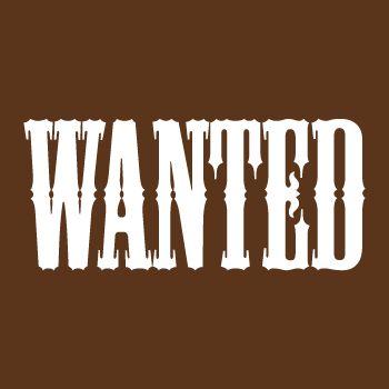 Casquette Far West Wanted (Recherché)