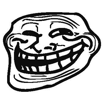 Sweat-Shirt Troll Face (Visage drôle)