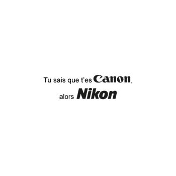 Nikon Canon T-shirt