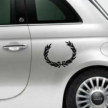 Laurel Fiat 500 Decal 2