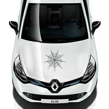 Spider Web Renault Decal 2