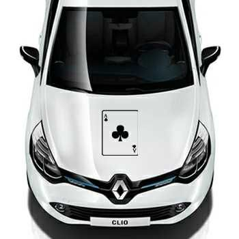 Ace of Clubs Renault Decal