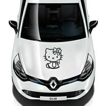 Sticker Renault Deco Hello Kitty Lacet