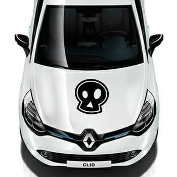 Emo skull Renault Decal