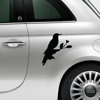 Dove Fiat 500 Decal 2