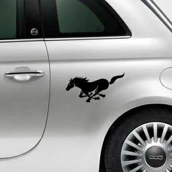 Running Horse Fiat 500 Decal