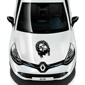 Jesus Christ Renault Decal