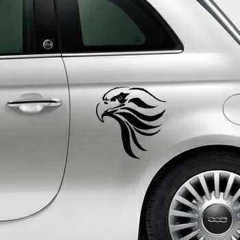 Sticker Fiat 500 Aigle Deco 6