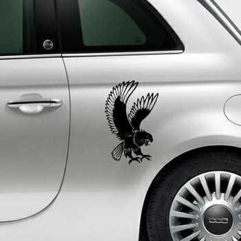 Sticker Fiat 500 Aigle Attaque