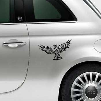 Sticker Fiat 500 Aigle Envol