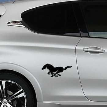 Sticker Peugeot Cheval Galop