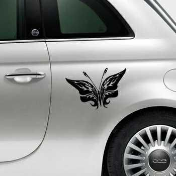 Butterfly Fiat 500 Decal 76