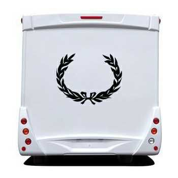 Laurel Camping Car Decal 2