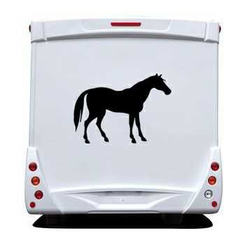 Sticker Camping Car Cheval IV
