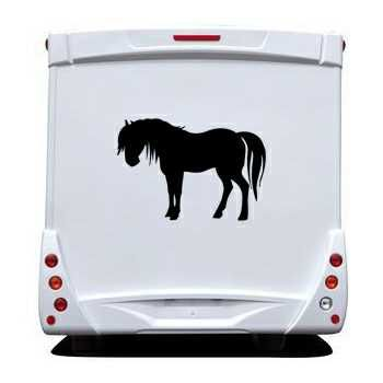 Sticker Camping Car Cheval III