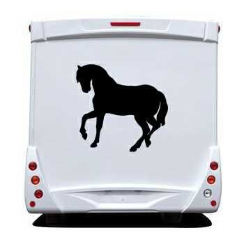 Sticker Camping Car Cheval II