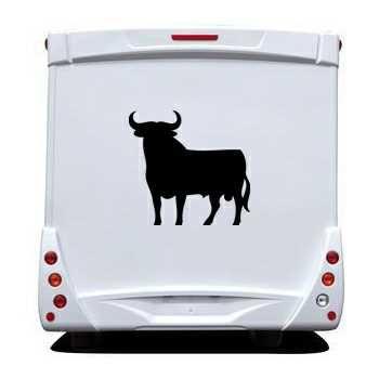 Spanish Bull Camping Car Decal