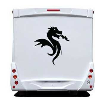 Sticker Camping Car FC Porto Dragon