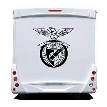 SLB Sport Lisboa Benfica Camping Car Decal