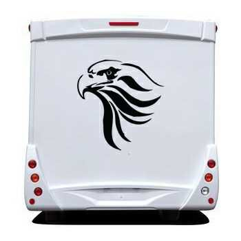 Eagle Camping Car Decal 6