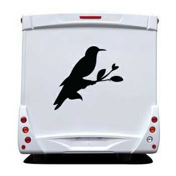 Dove Camping Car Decal 2