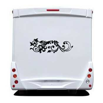 Ornament Camping Car Decal 30