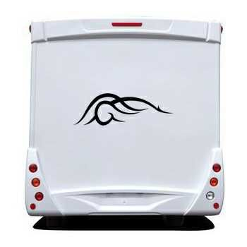 Tribal Camping Car Decal 36