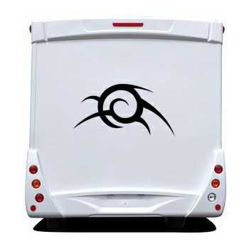 Tribal Camping Car Decal 37